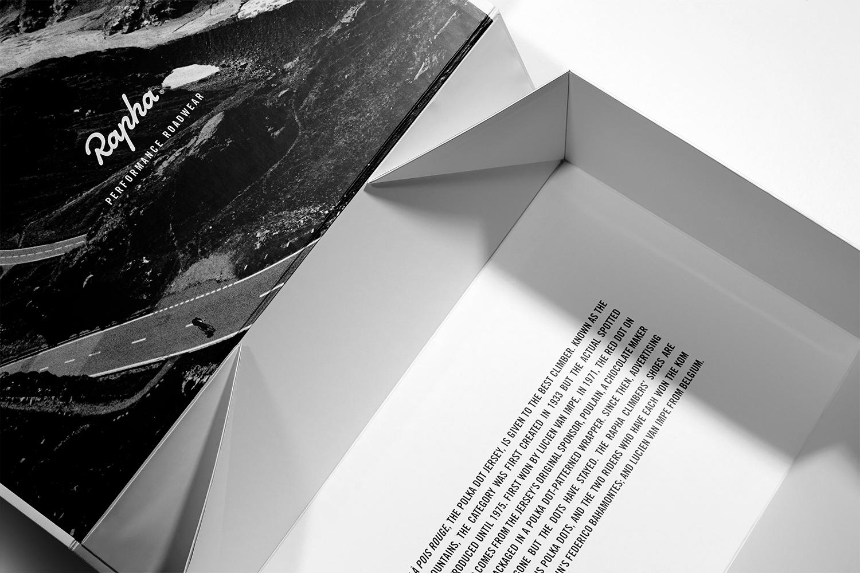 Progress Packaging Rapha Racing Luxury Folding Engineered Fold Flat Box