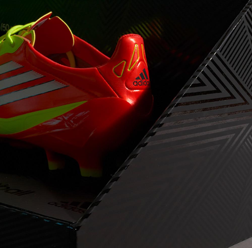 Progress Packaging Adidas Retail Fashion Boxes Acrylic UV Spot Varnish FMCG Football