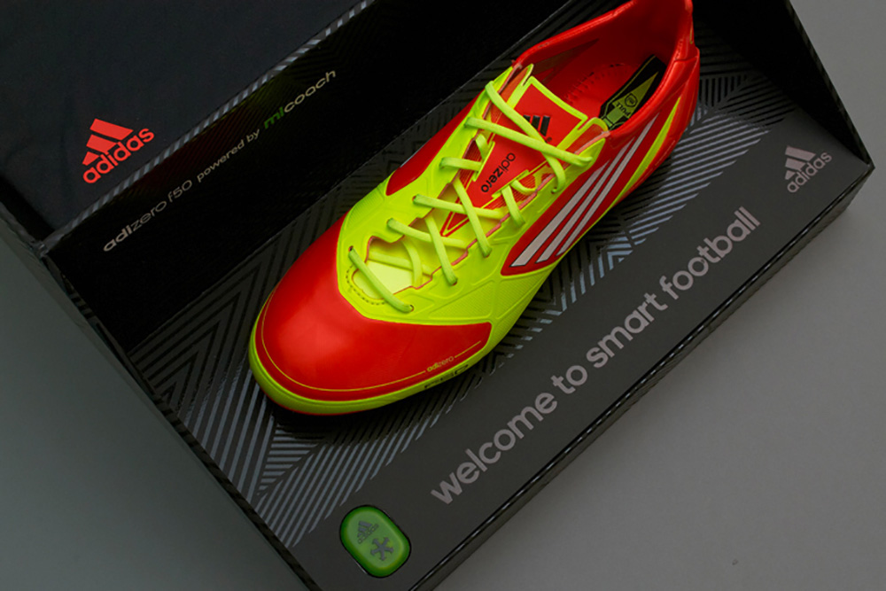 Progress Packaging Adidas Retail Fashion Boxes Internal UV Spot Varnish FMCG Football Boots