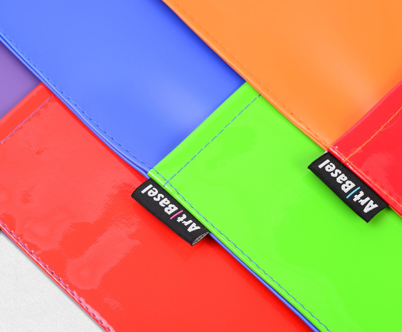 Progress Packaging ArtBasel Tote Bag PVC Coloured Custom Bright