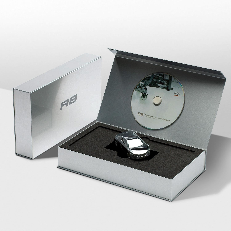 Progress Packaging Audi Retail Metal Box Making Metal