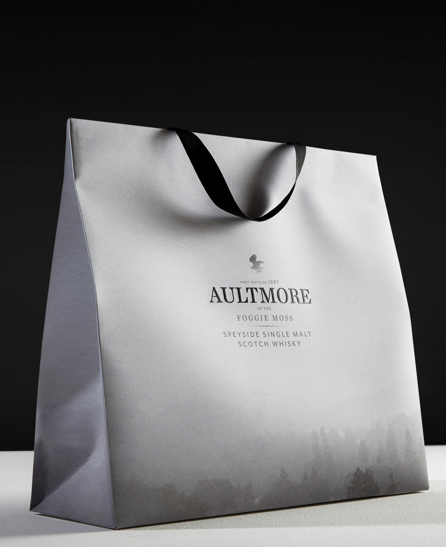 Progress Packaging Aultmore Retail Carrier Bags Drinks Printing Litho Whisky