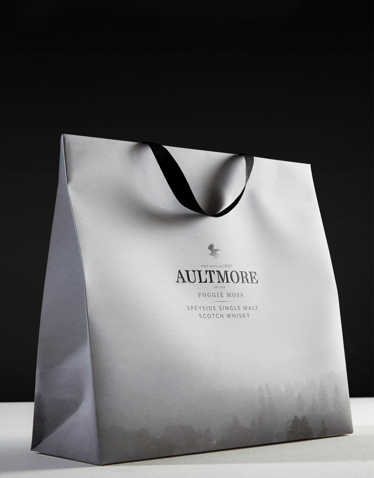 Progress Packaging Aultmore Retail Drinks Carrier Bags Drinks Printing Litho Whisky