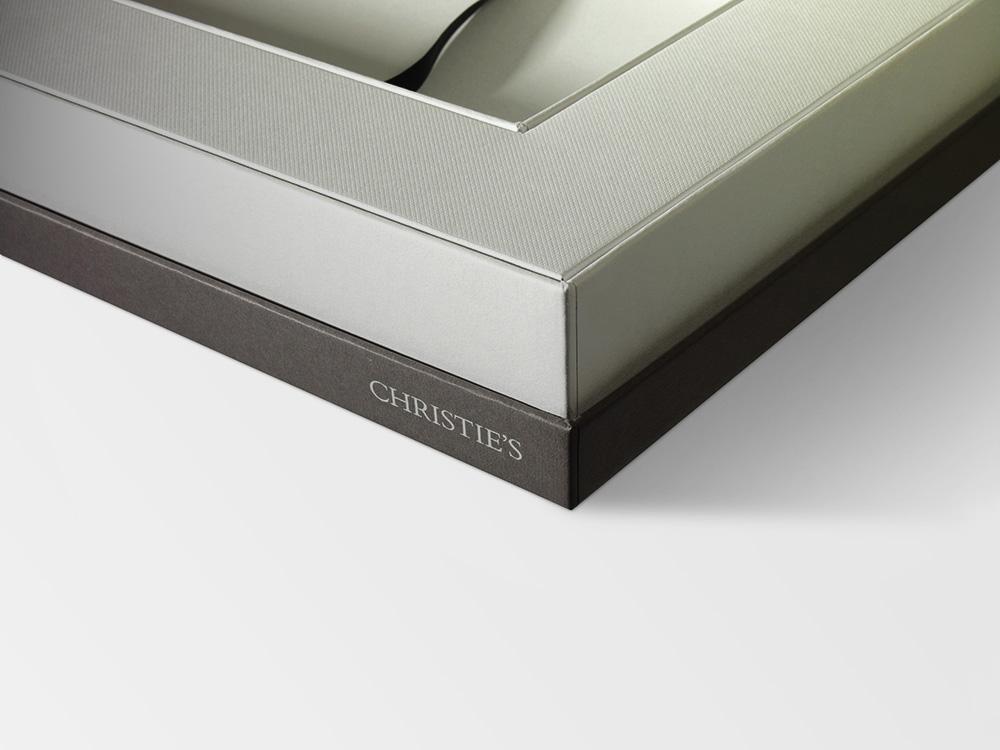 Progress Packaging Christies Luxury Box Making Double