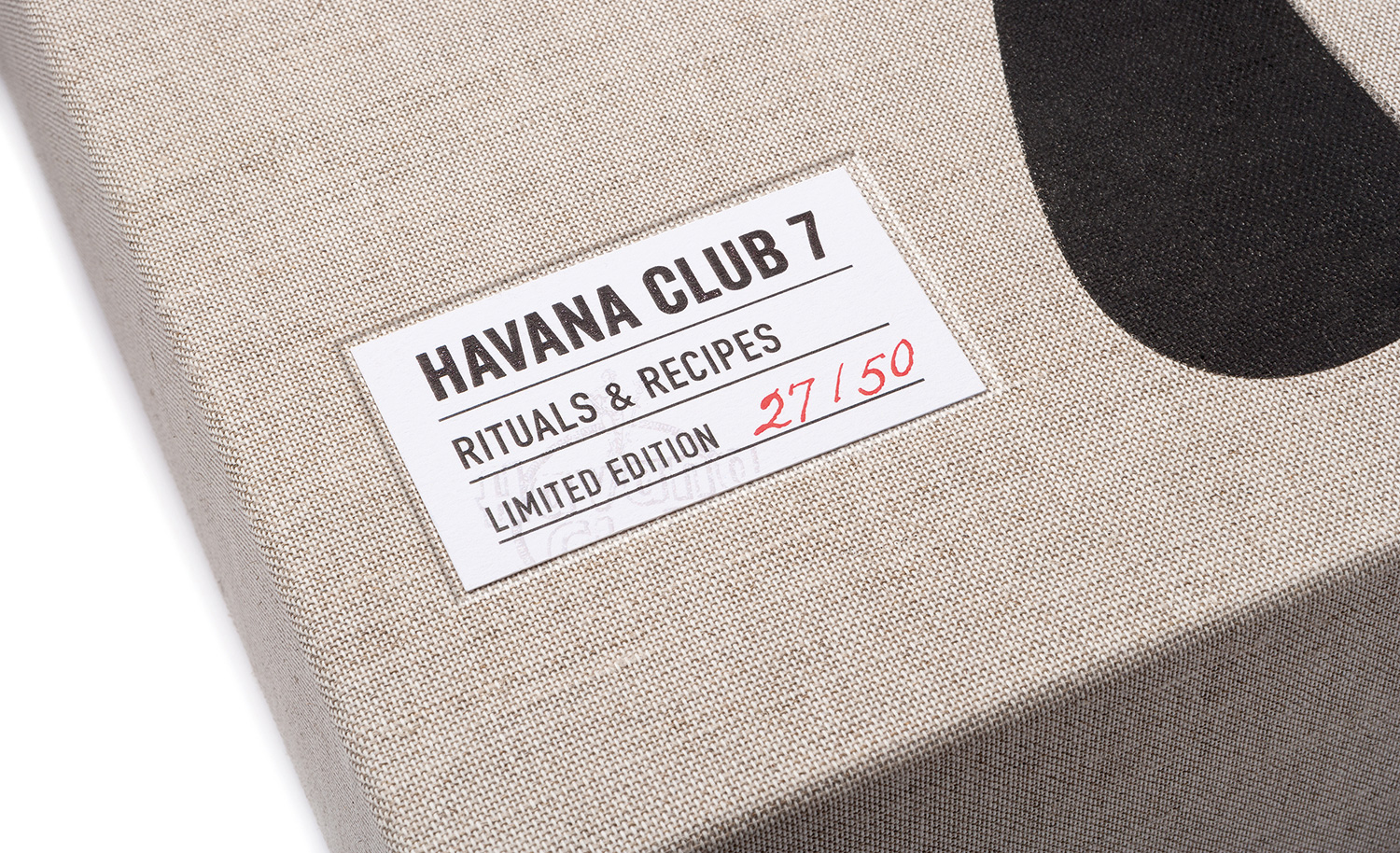 Progress Packaging Havana Club Boxes Drinks Special Edition Textiles Winters Fabric