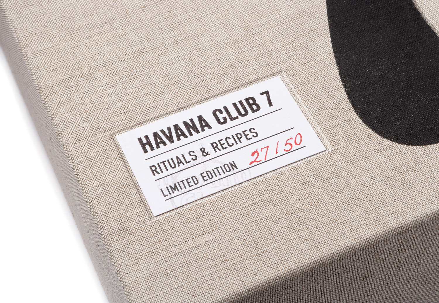 Progress Packaging Havana Club Boxes Drinks Special Edition Textiles Winters Fabric Labels