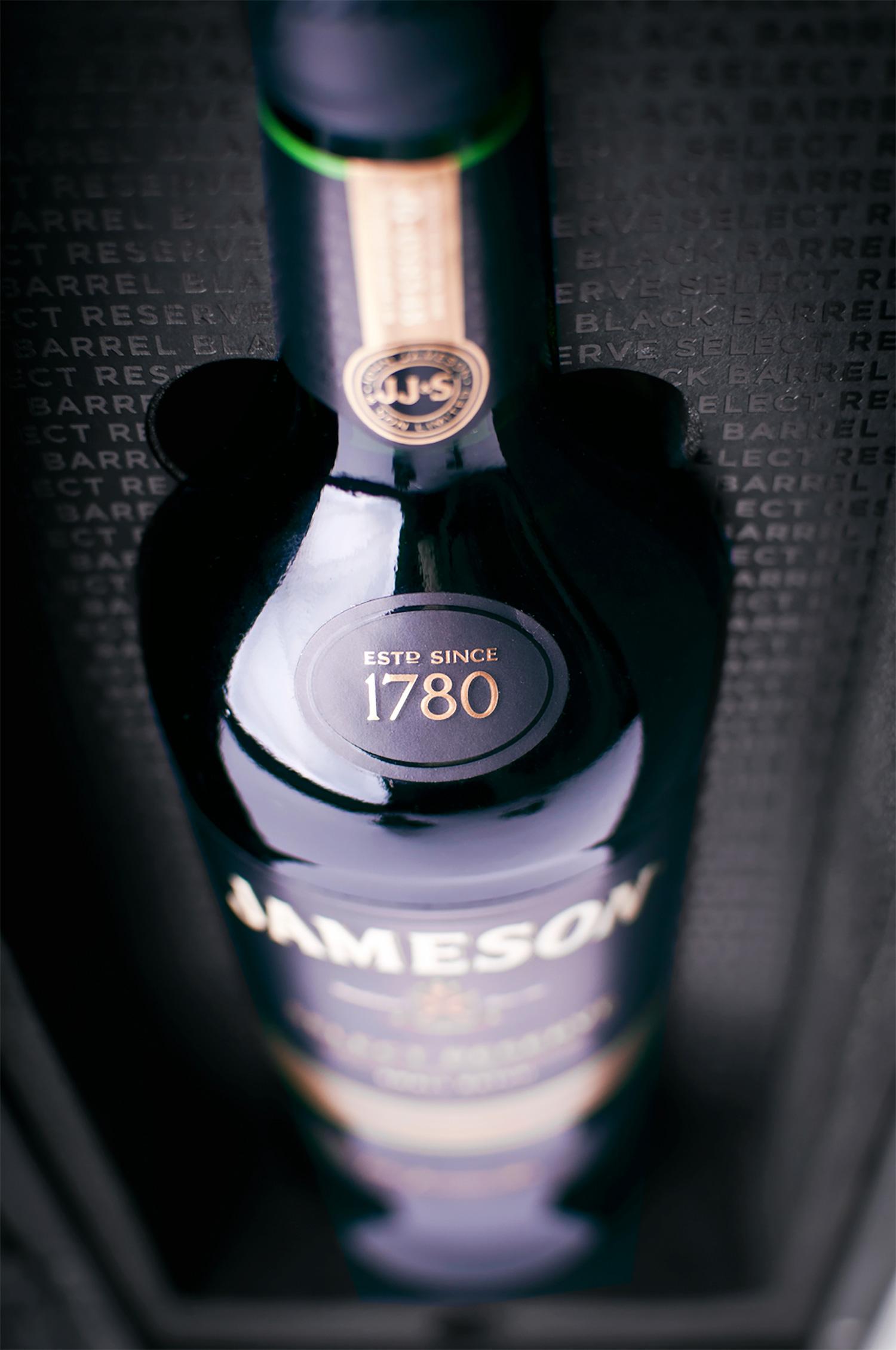 Progress Packaging Jamesons Boxes Retail Drinks Wood Foam Detail