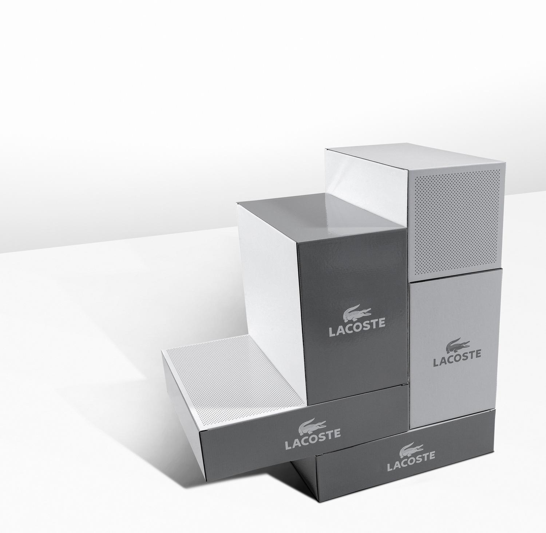 Progress Packaging Lacoste Fashion Retail Boxes Sports Series Range