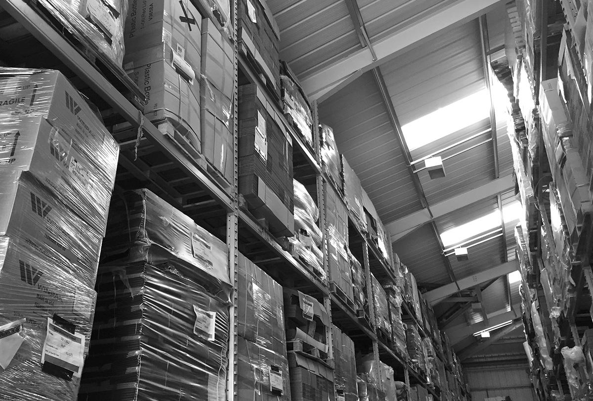 Progress Packaging Logistics Stock Control Warehouse