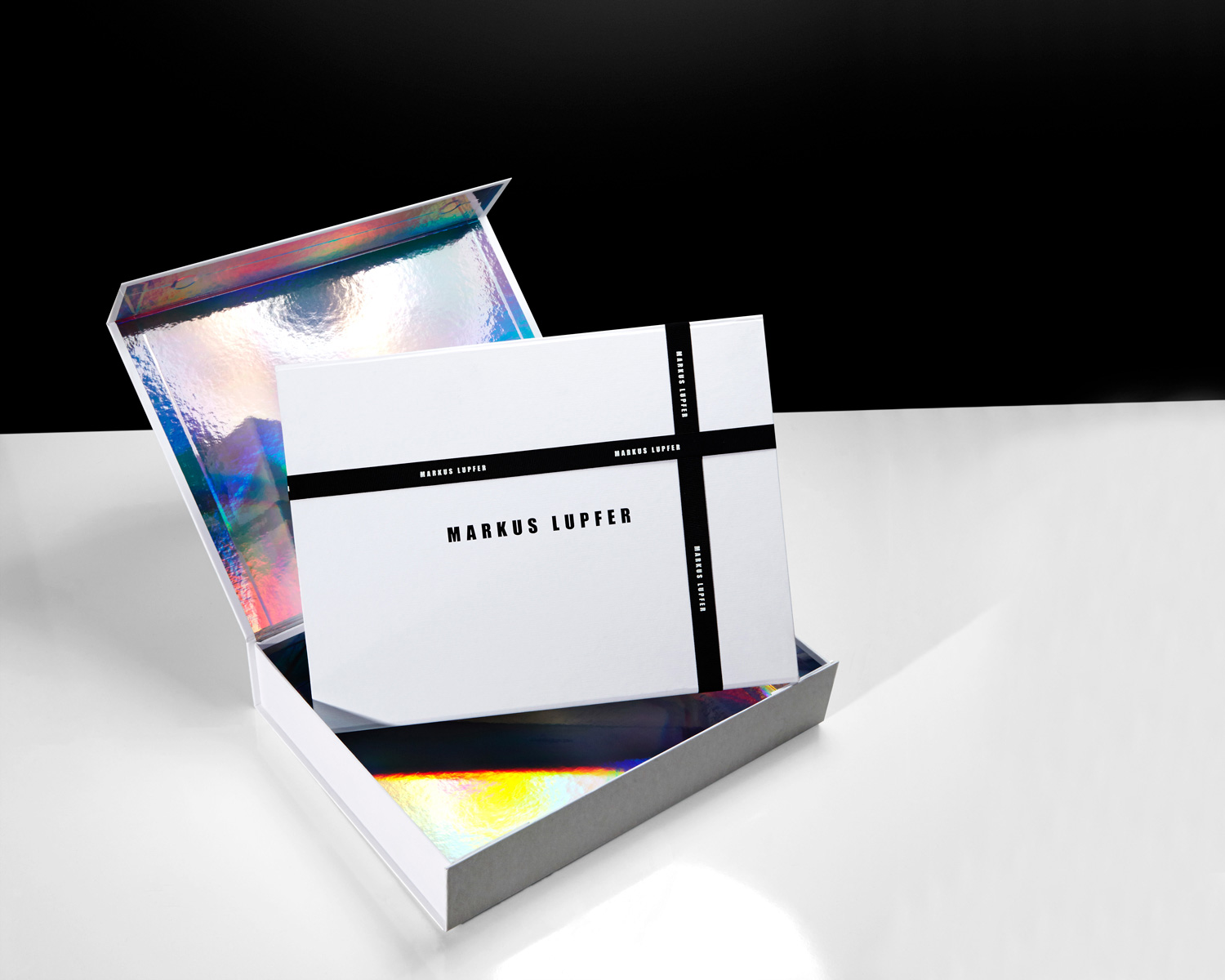 Progress Packaging Markus Lupfer Boxes Ecommerce Luxury Fashion Ribbon Irridescent Papers Range