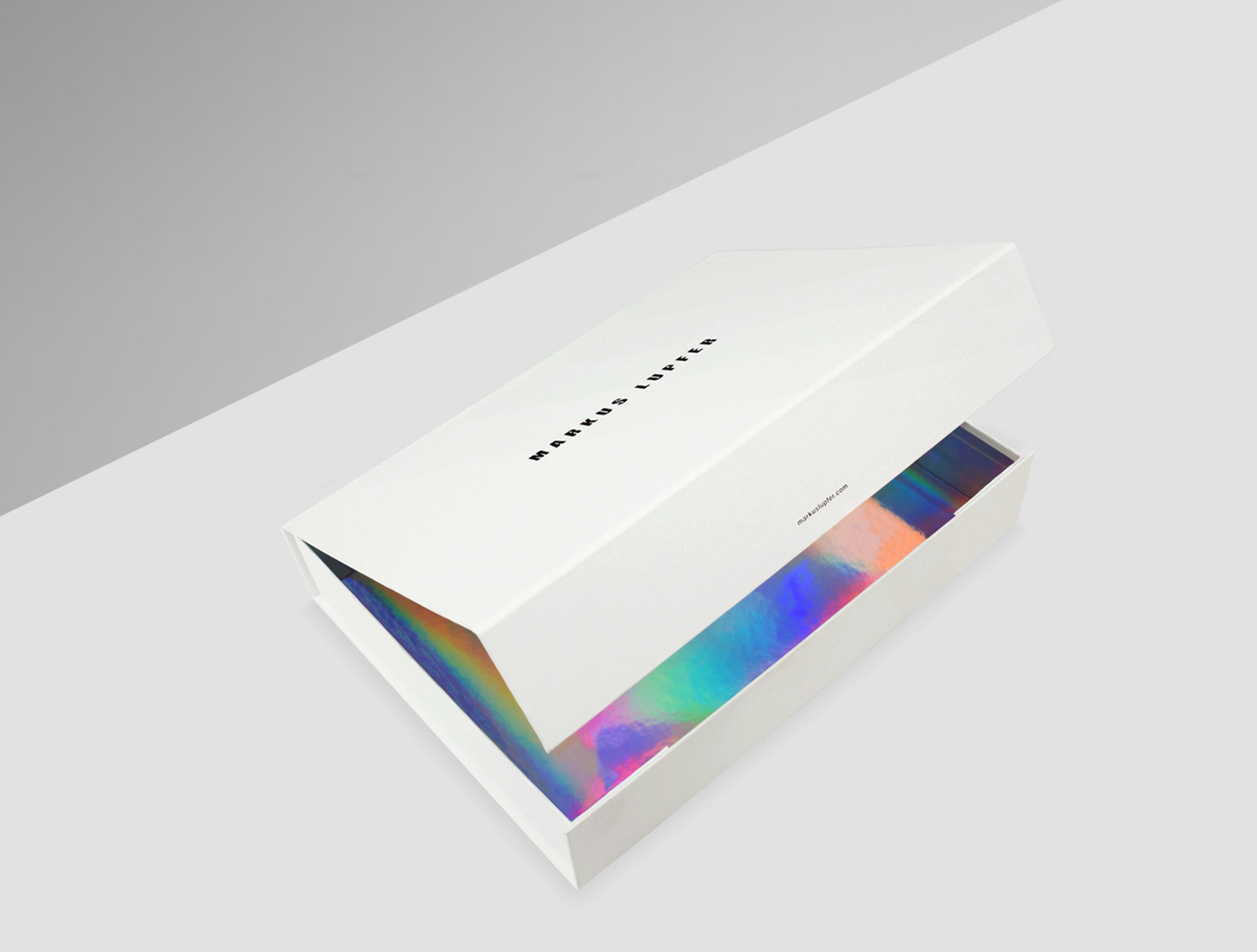 Progress Packaging Markus Lupfer Boxes Ecommerce Luxury Fashion Ribbon Textured Paper Coloured Irridescent Paper