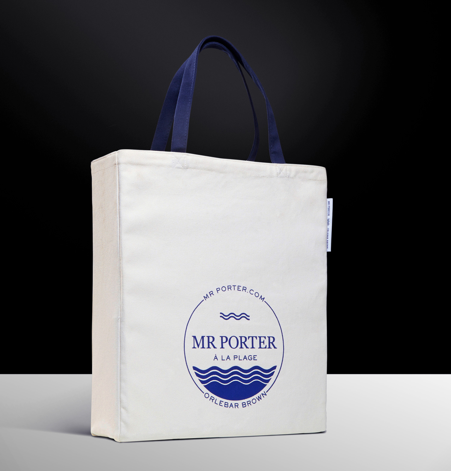 Progress Packaging MrPorter Tote Bag Textiles UnBleached Natural oz