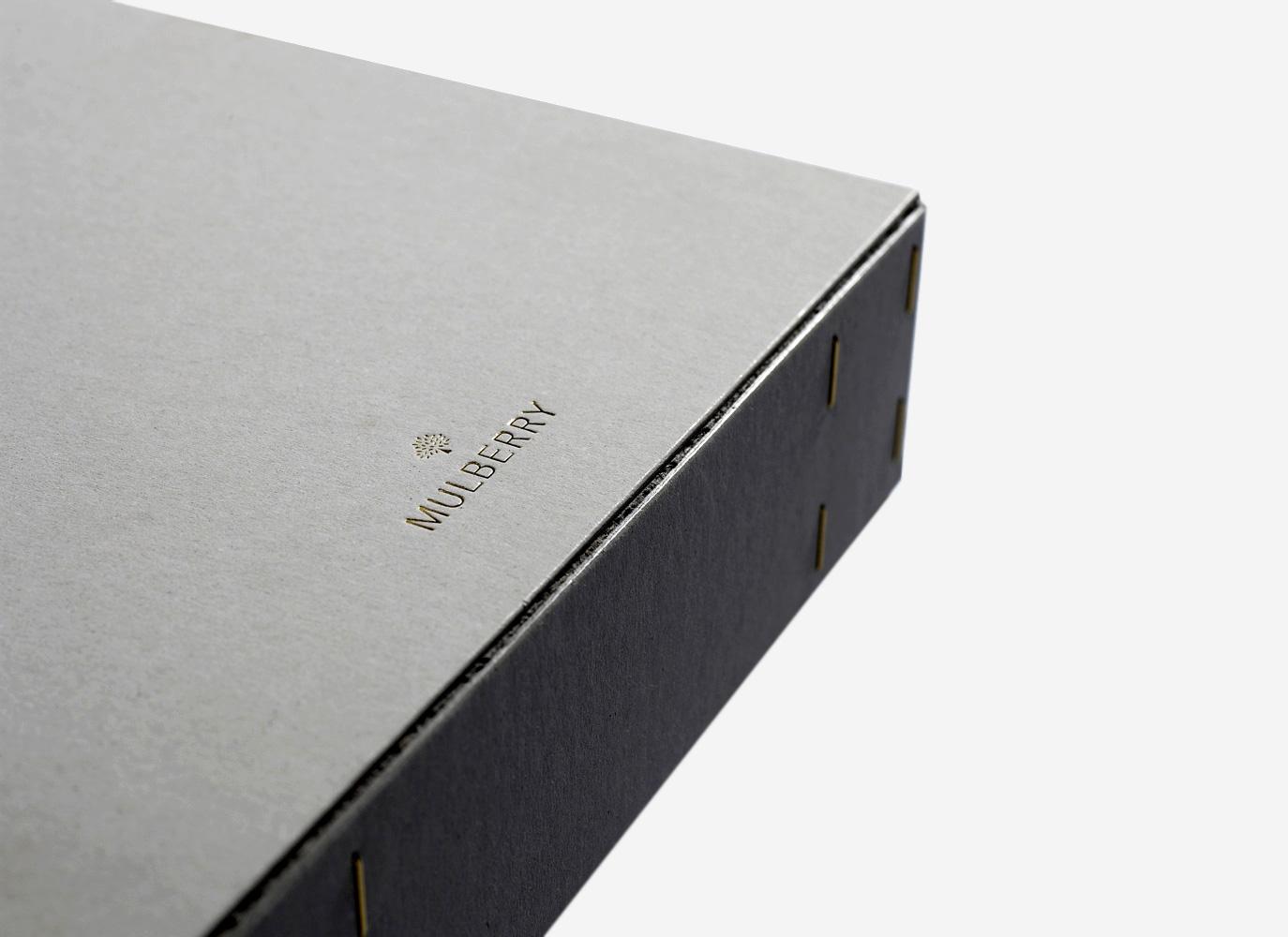 Progress Packaging Mulberry Luxury Fashion Retail Greyboard