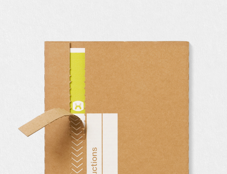 Progress Packaging Nexus Julia Boxes Creative Corrugate Card Closures TearStrip