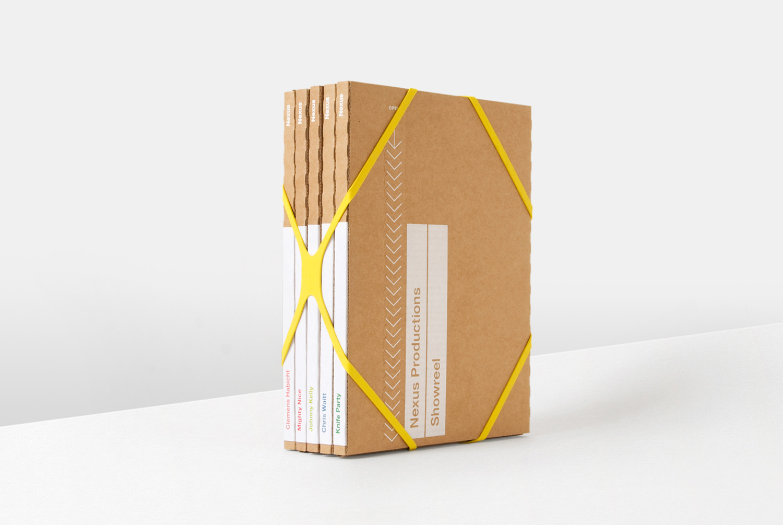 Progress Packaging Nexus Julia Boxes Creative Corrugate Card Elastic Band