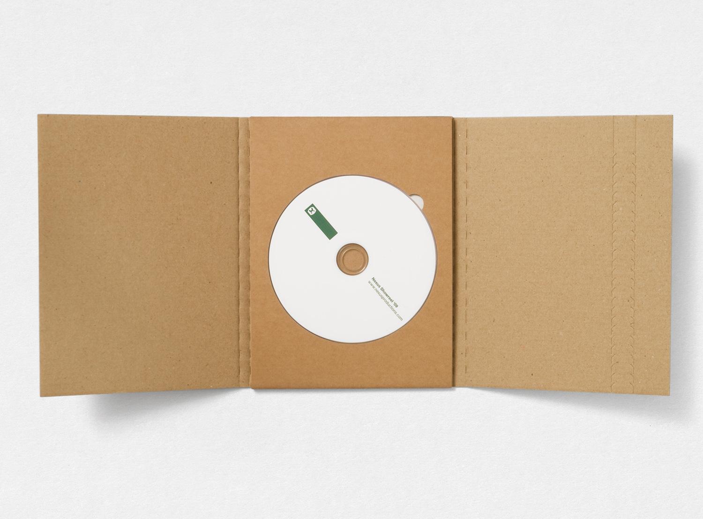 Progress Packaging Nexus Julia Boxes Creative Corrugate Card Media Holder