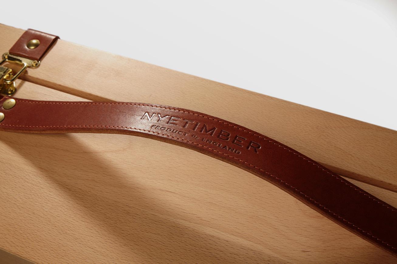 Progress Packaging Nyetimber Luxury Boxes Drinks Closure Wood Handles Leather DeBossed