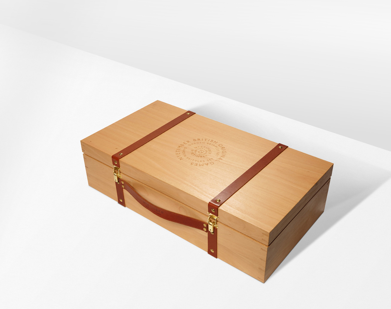 Progress Packaging Nyetimber Made Thought Luxury Boxes Drinks Closure Wood Leather