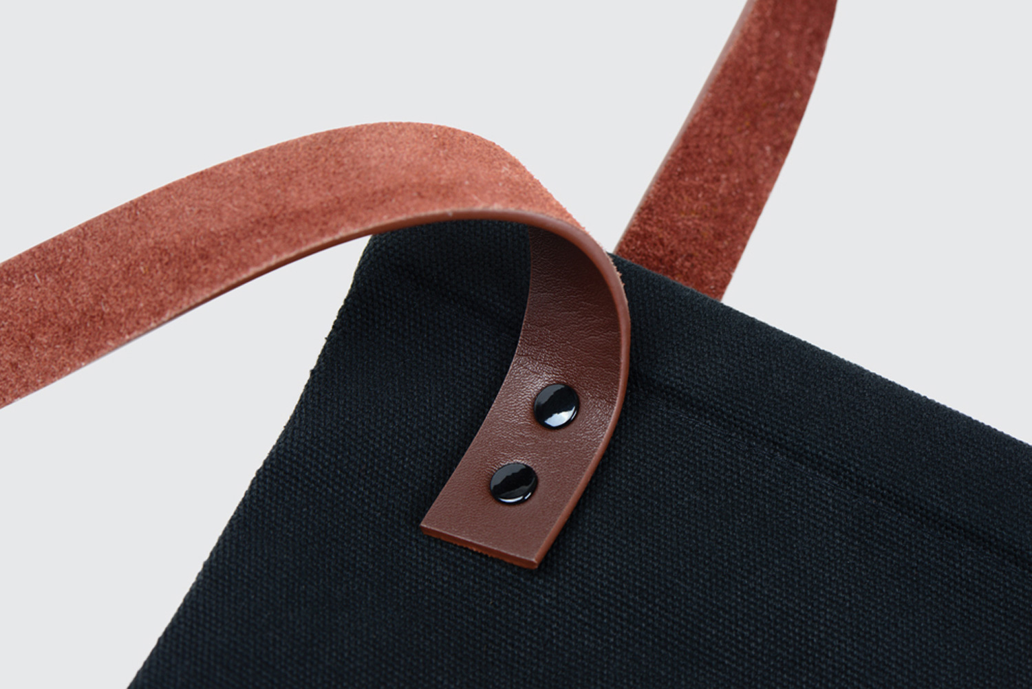 Progress Packaging Rathbone Square Property Leather Handles Canvas