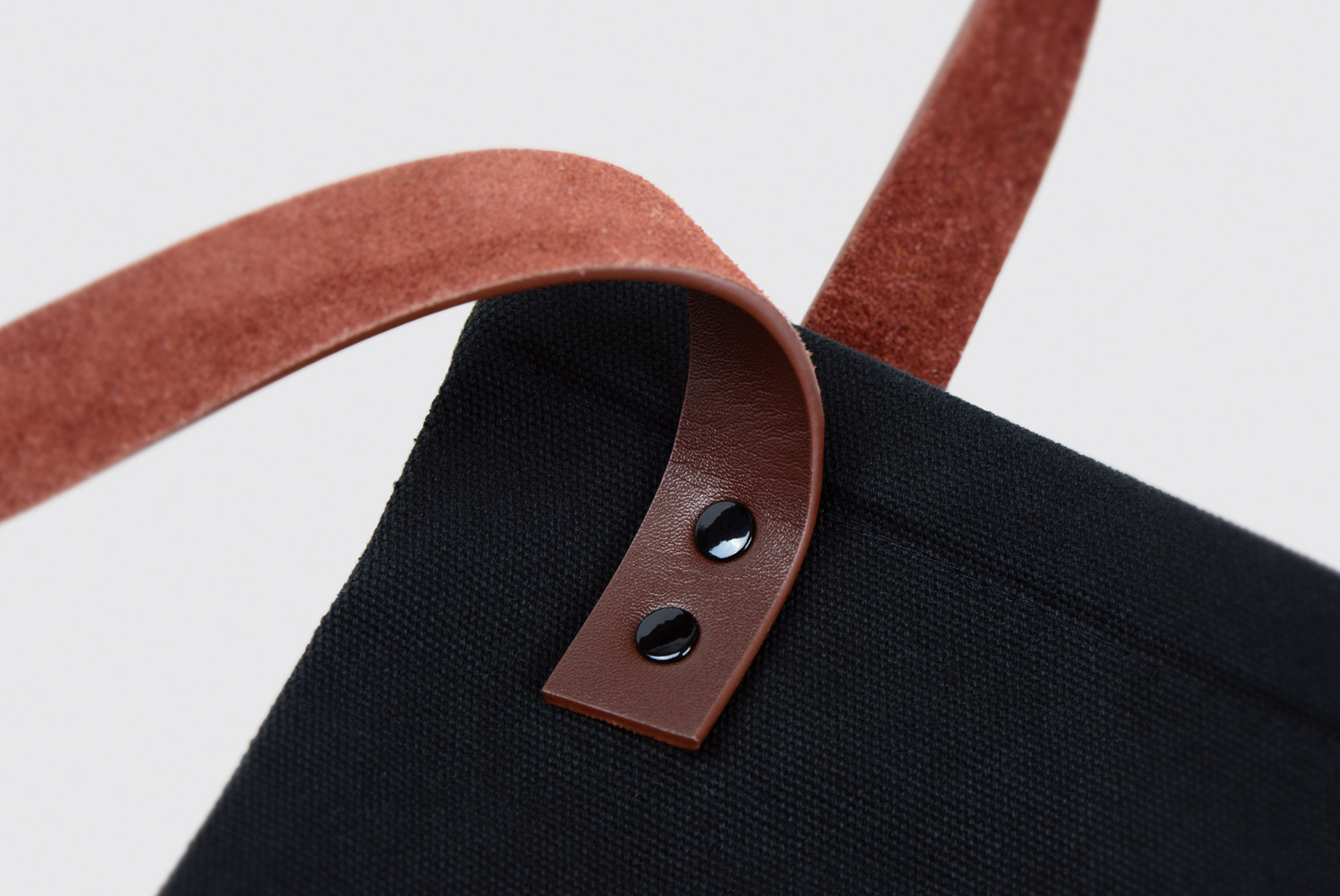 Progress Packaging Rathbone Square Tote Bag Handles Leather Rivets