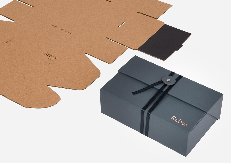 Progress Packaging Rebus Folding Corrugate Fold Flat Corrugate Card Fold Flat PreCreased