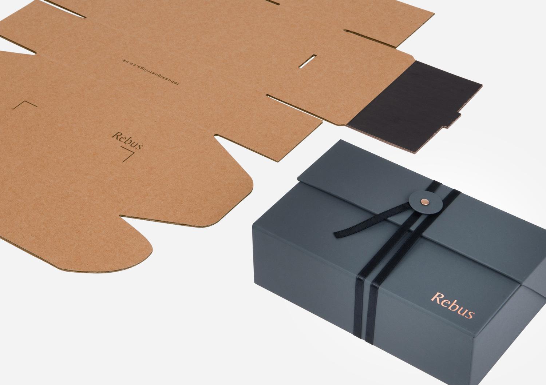 Progress Packaging Rebus Folding Corrugate Fold Flat Corrugate Card