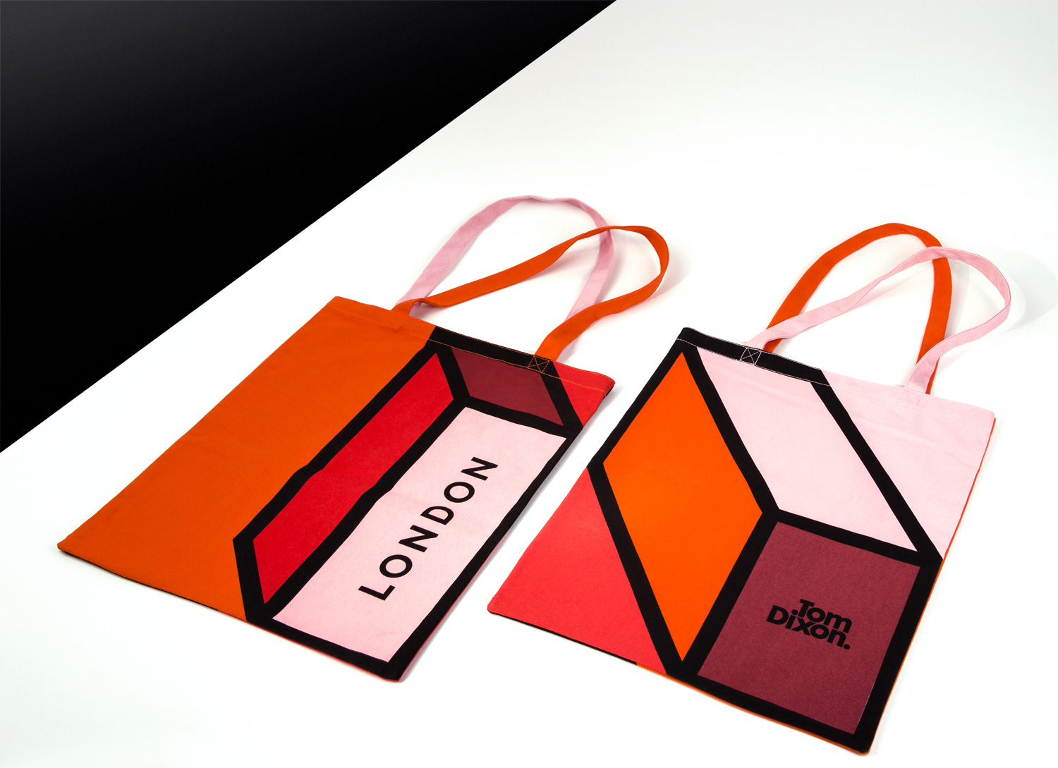 Progress Packaging TomDixon Tote Bag Retail Creative Printing Five Colour Screen Print Canvas