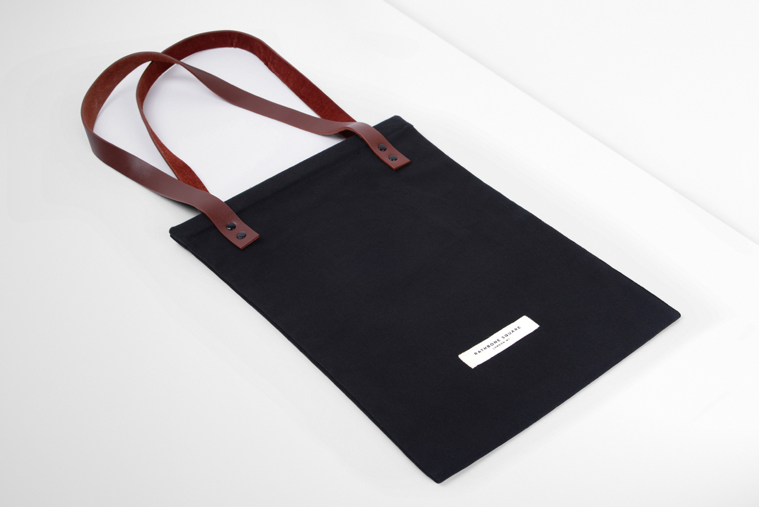 Progress Packaging Tote Bag Fashion Printing Handles Leather
