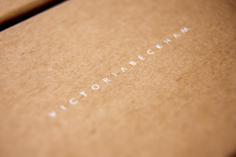 Progress Packaging Victoria Beckham Luxury Fashion Boxes Range Kraft Paper Contrast