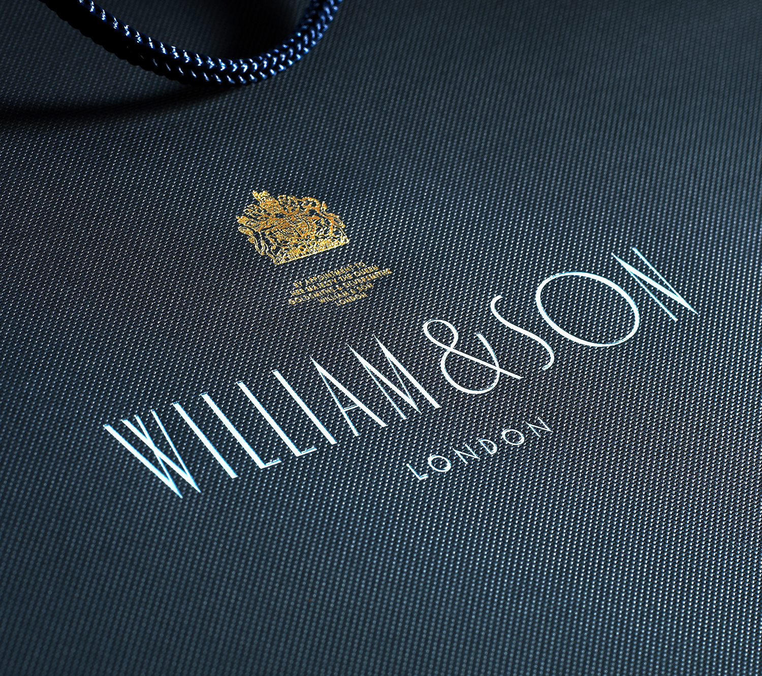 Progress Packaging WilliamSons Multiple Foiling Menswear Luxury