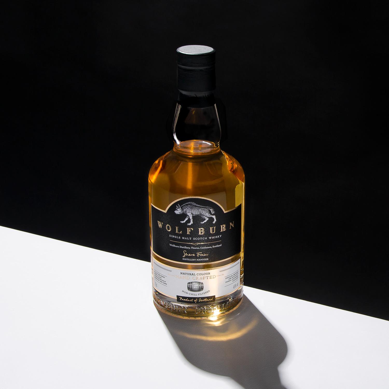 Progress Packaging Wolfburn Whisky Luxury Drinks Labels Bottles
