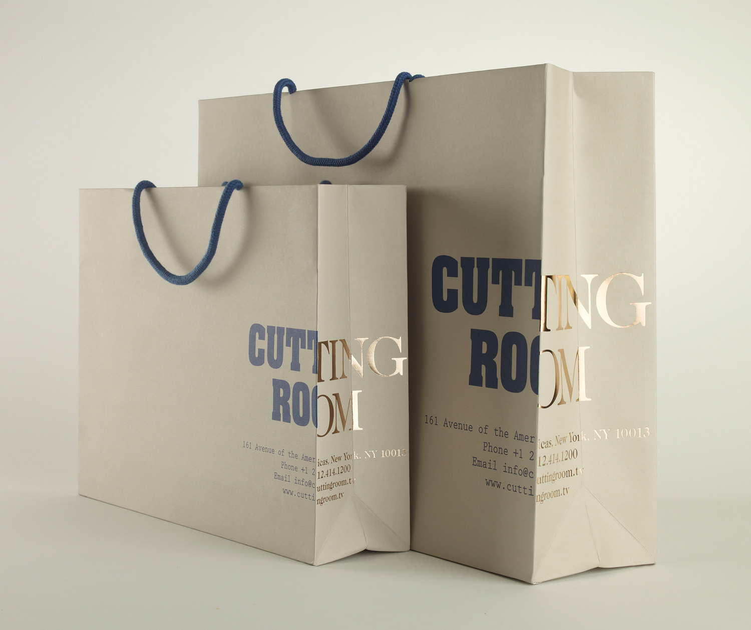 Progress Cutting Room Packaging Made Thought bag