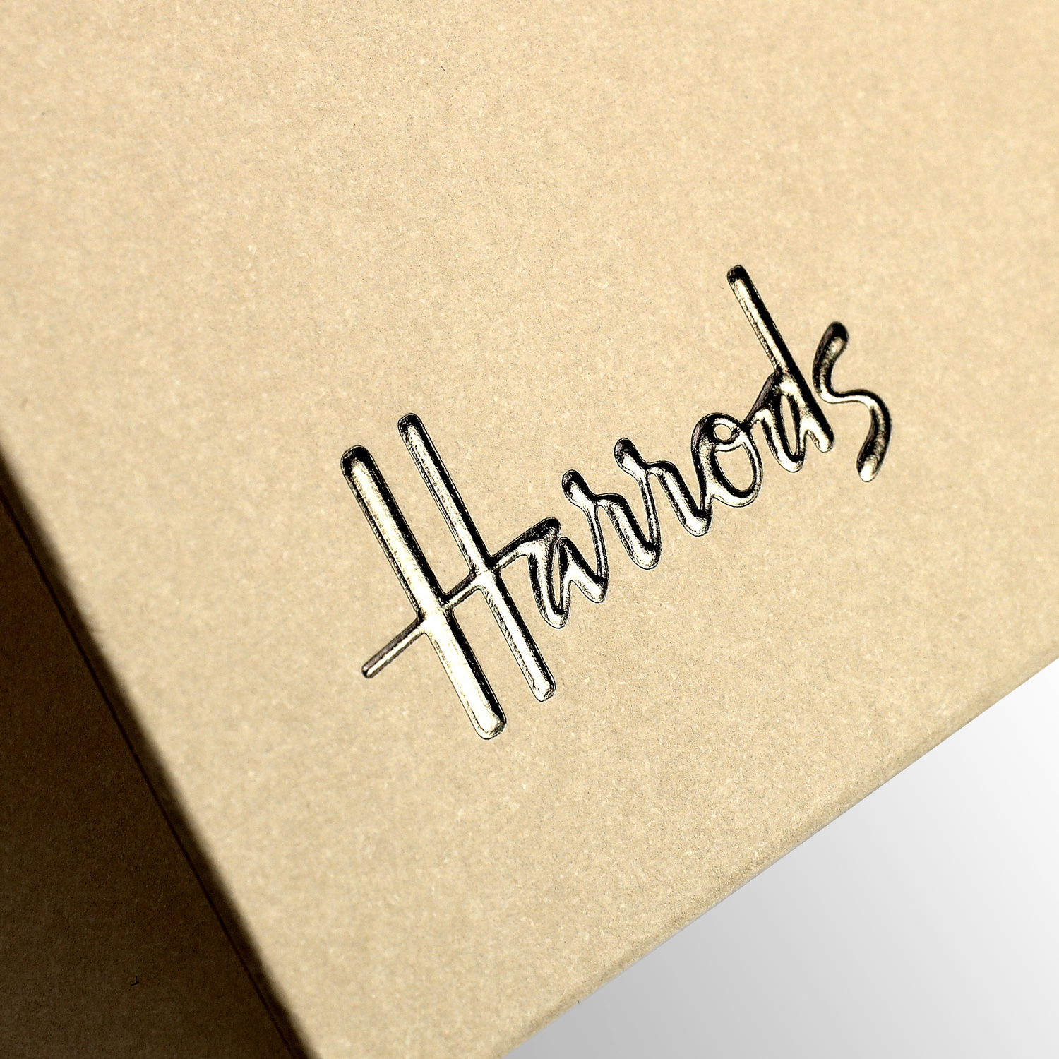Progress Packaging Luxury Retail Carrier Foil Logo