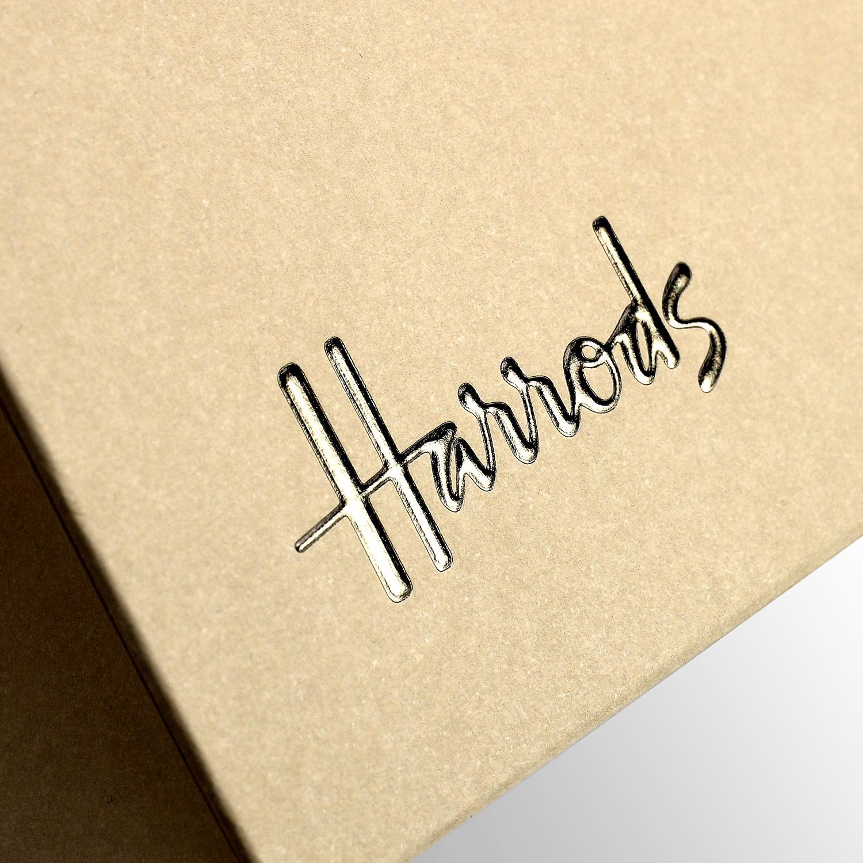 Progress Packaging Luxury Retail Carrier Foil Logo