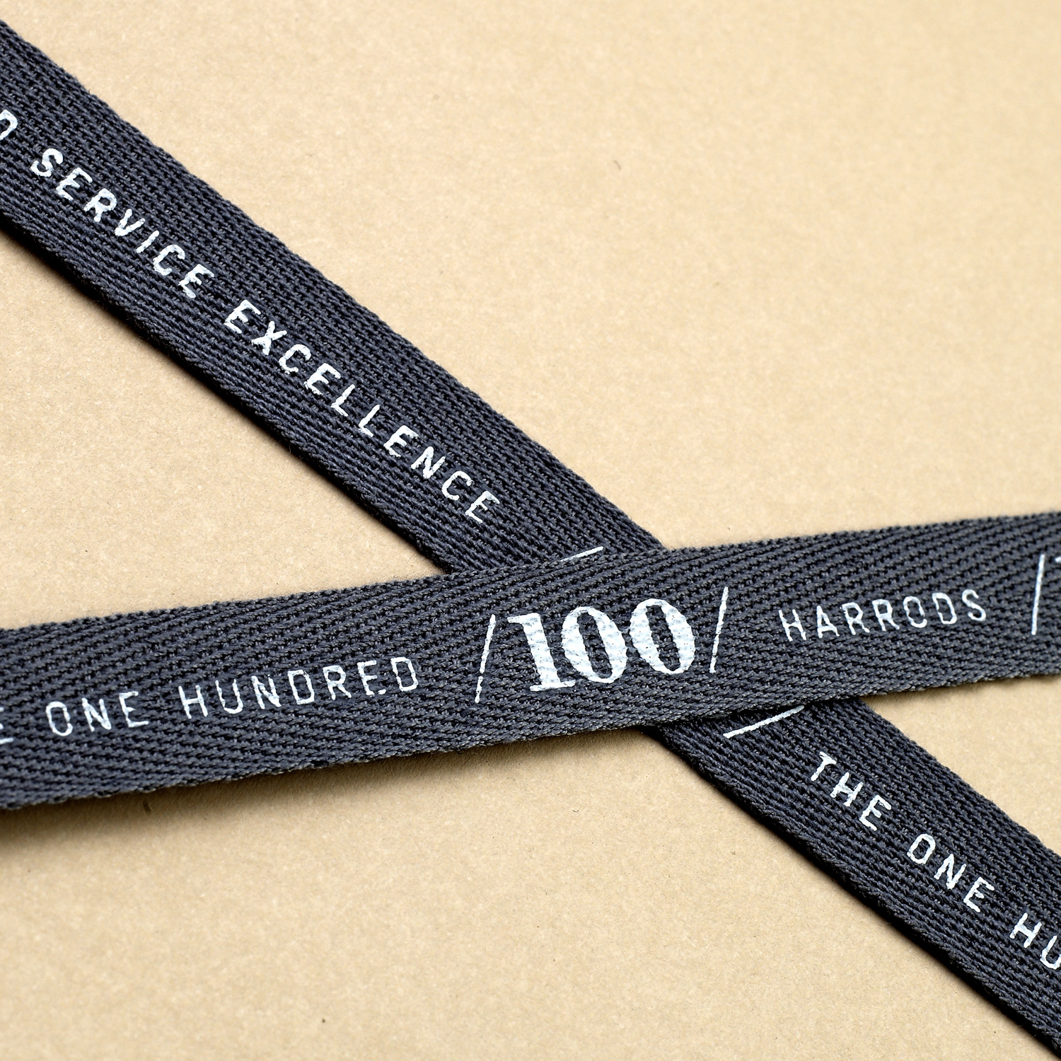 Progress Packaging Made Thought Harrods Luxury Retail Carrier Ribbon