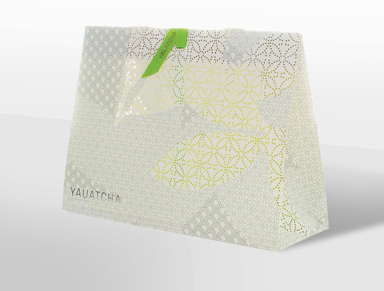 Progress Packaging Made Thought Yauatcha Laser Cut Retail Bag