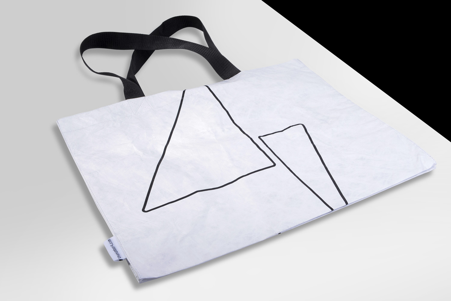 Progress Packaging The number  Tote Bag Tyvek