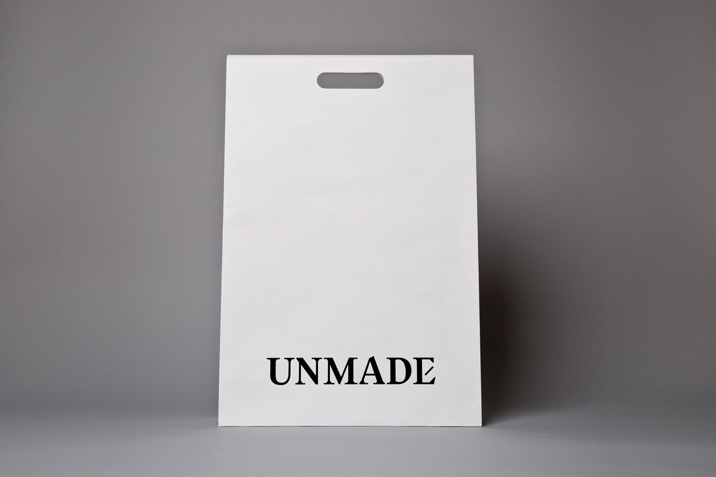 Progress Packaging Bibliotheque Unmade Carrier Bag