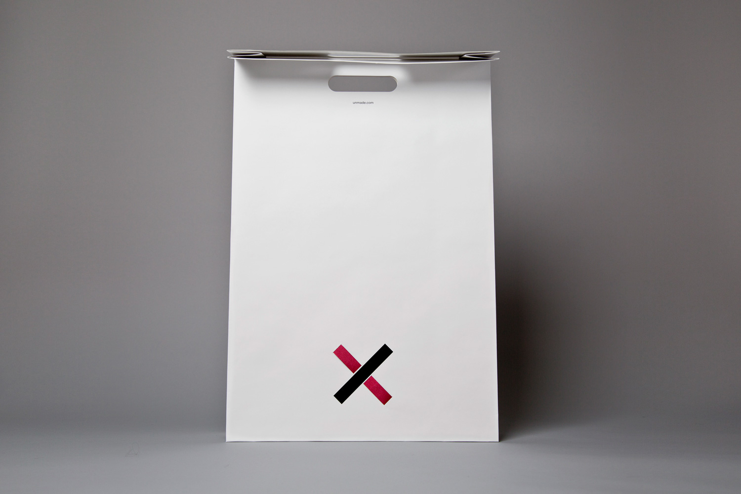 Progress Packaging Bibliotheque Unmade Retail Carrier Bag