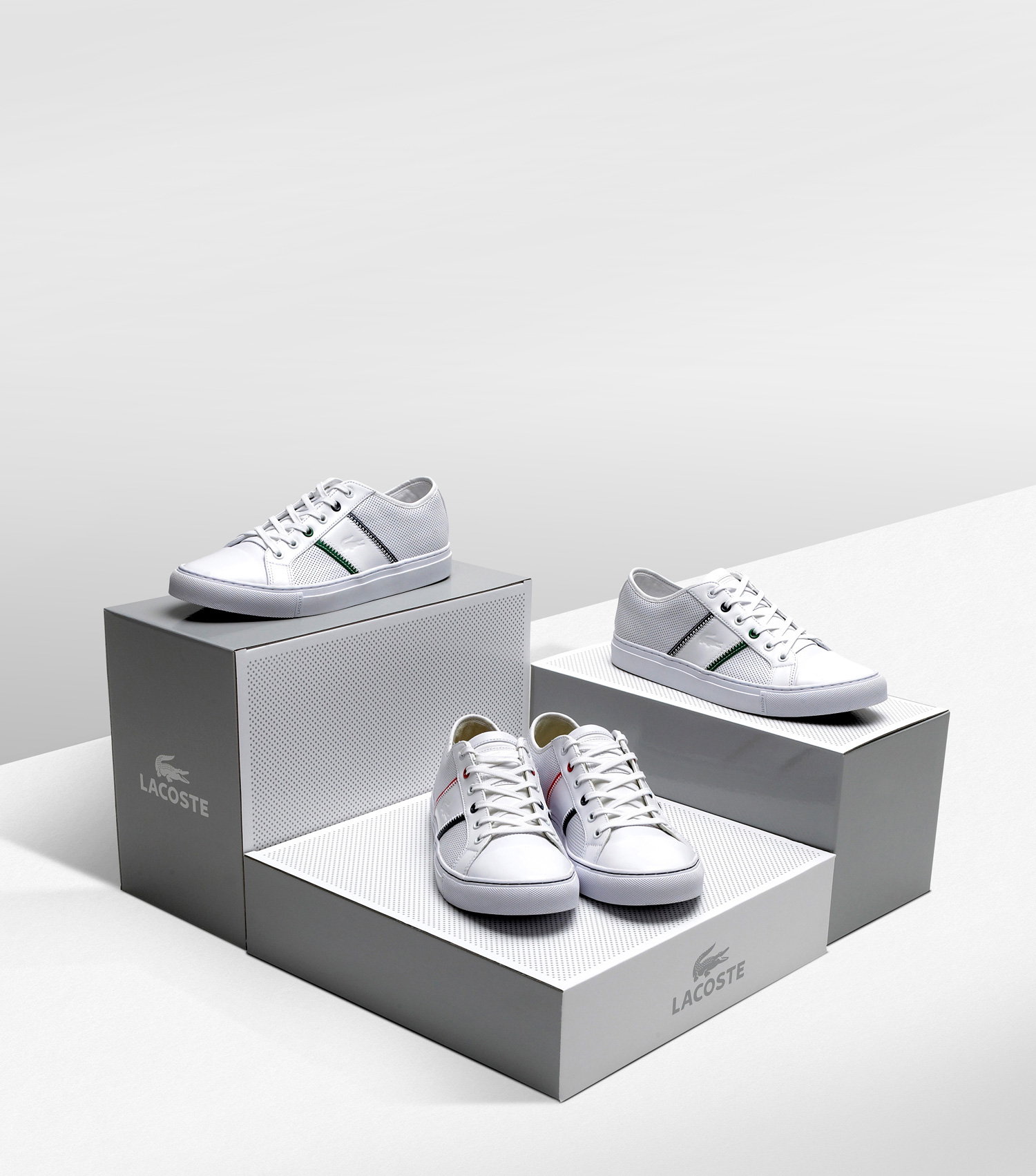 Progress Packaging Lacoste Fashion Retail Boxes Sports POS