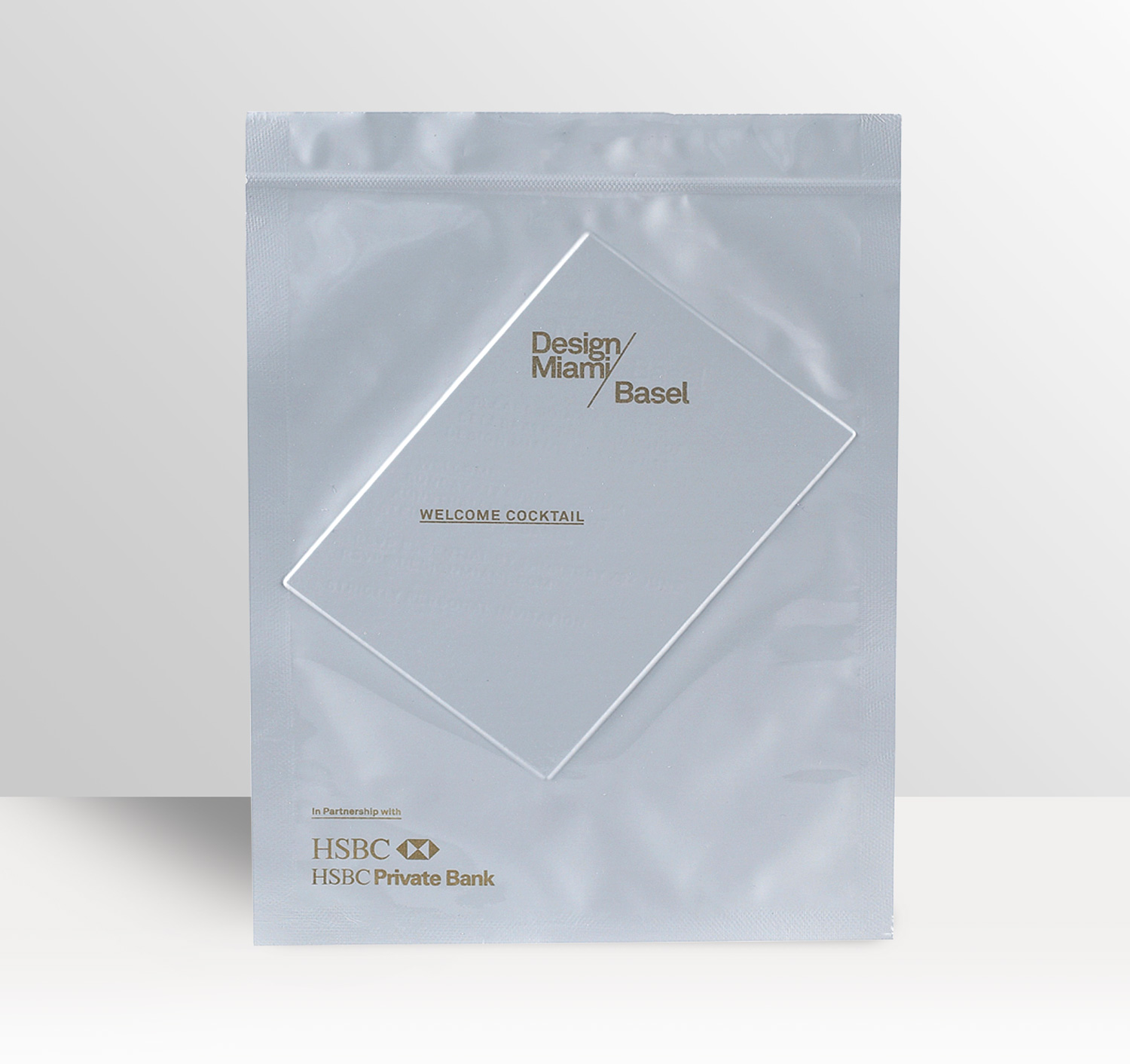 Progress Packaging Made Thought Miami Basel Vac Pack Envelope Invite