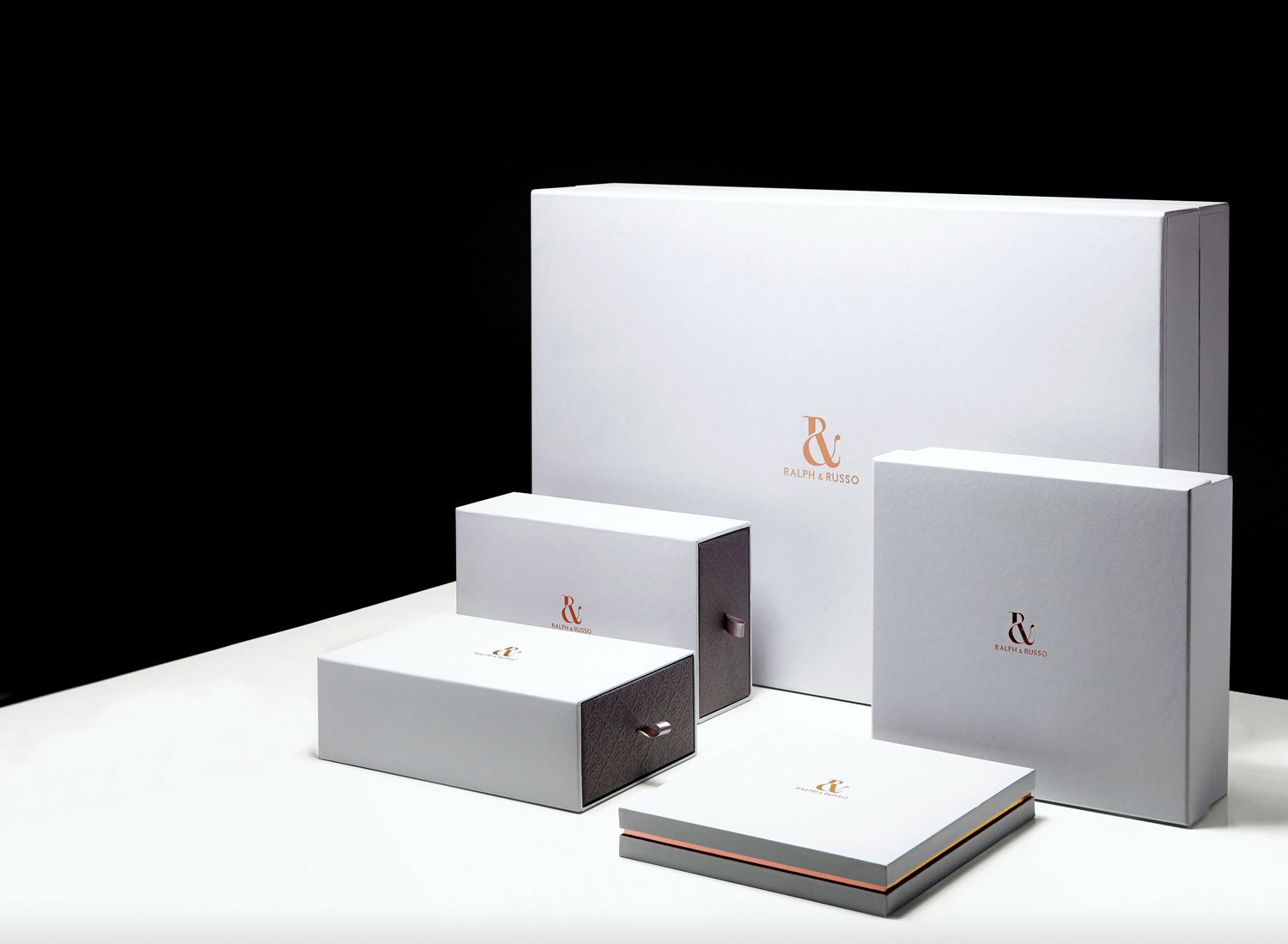 Progress Packaging Ralph And Russo Luxury Fashion Boxes Collection Bespoke