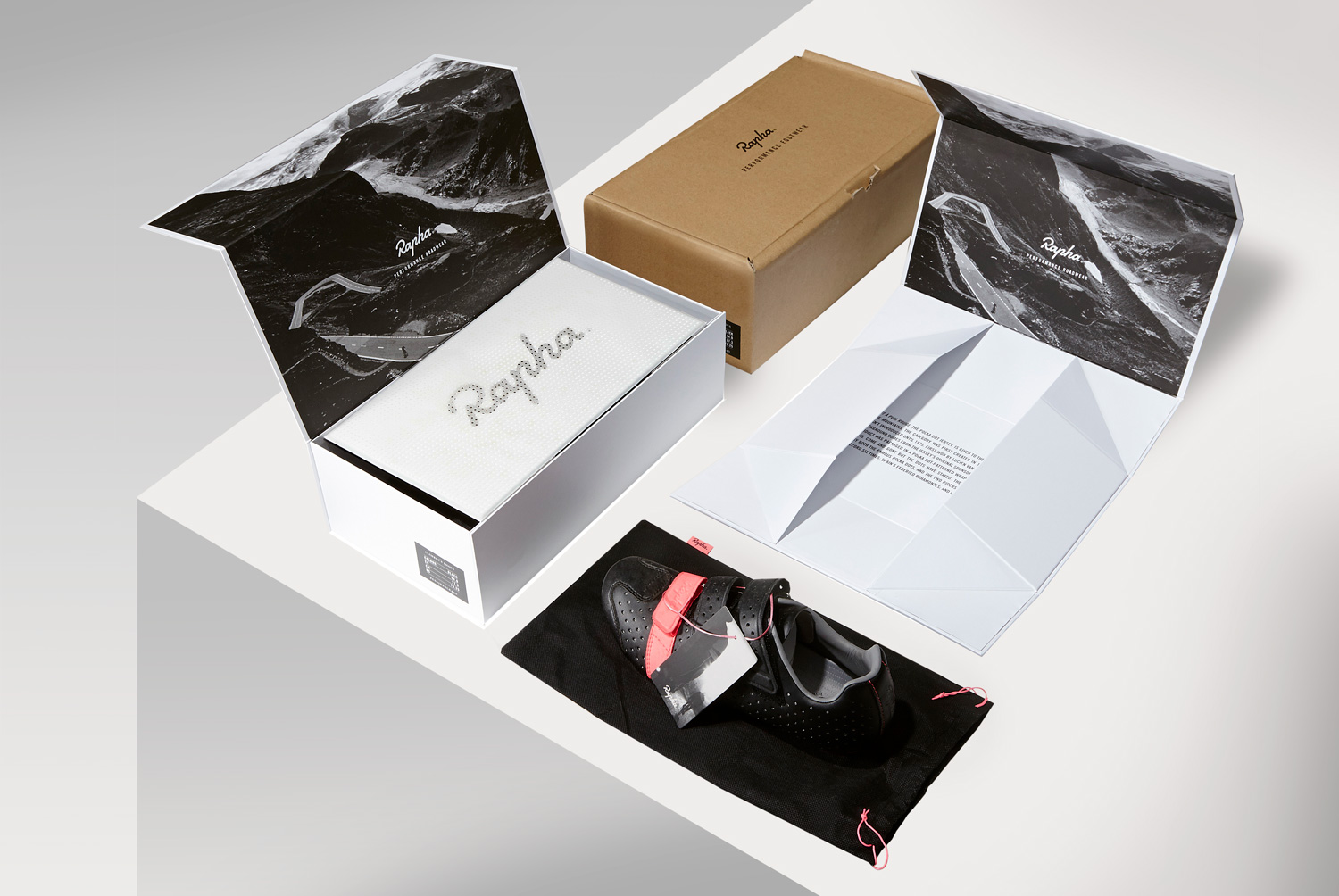Progress Packaging Rapha Performance Footwear