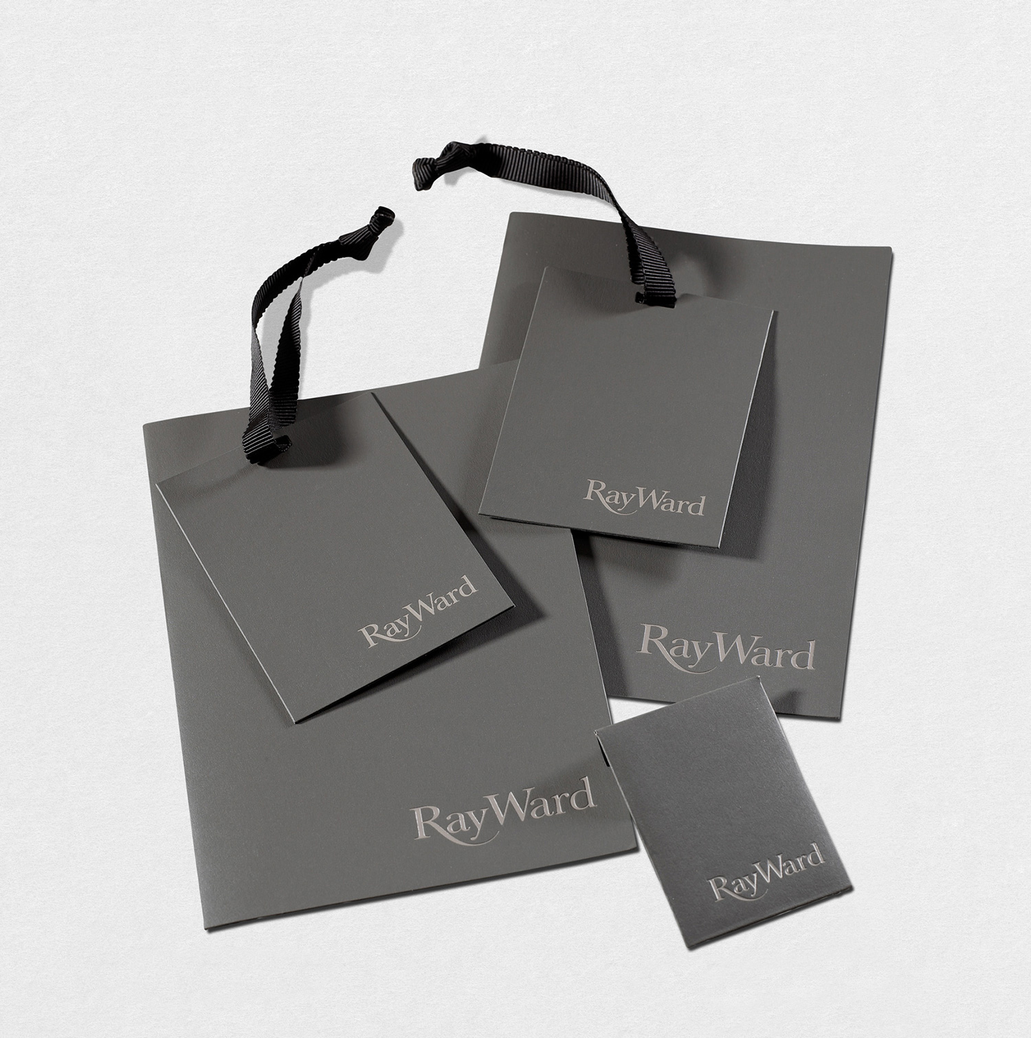Progress Packaging Ray Ward Accessories Swing Tags Fashion Luxury Labels Papers Ribbon