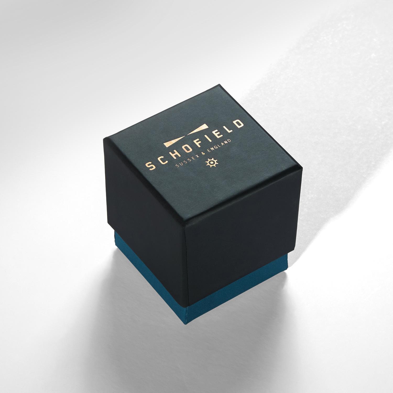 Progress Packaging Schofield Watches Luxury Fashion Box Making Paper