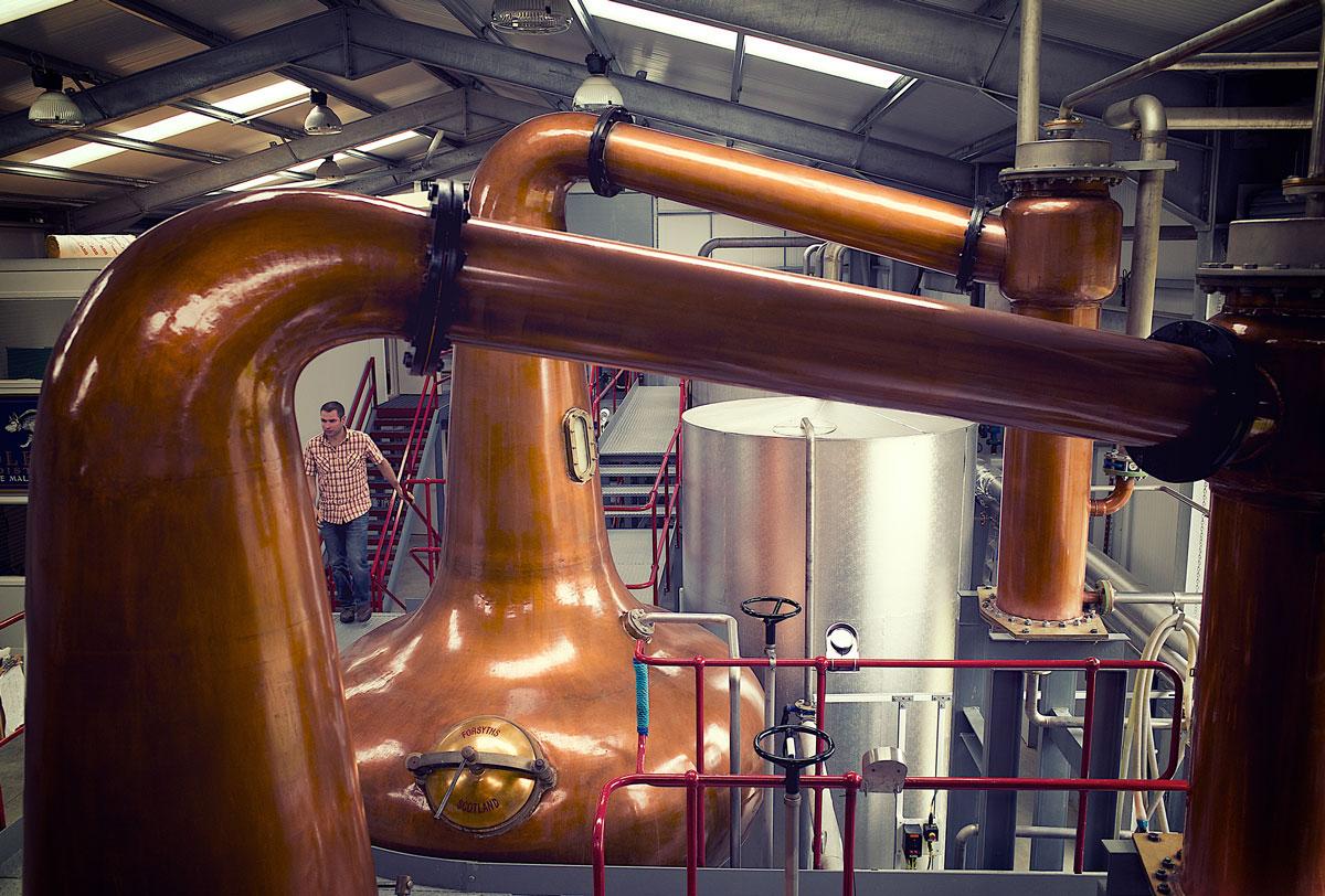 Wolfburn Distillery Progress Packaging Whisky Packaging