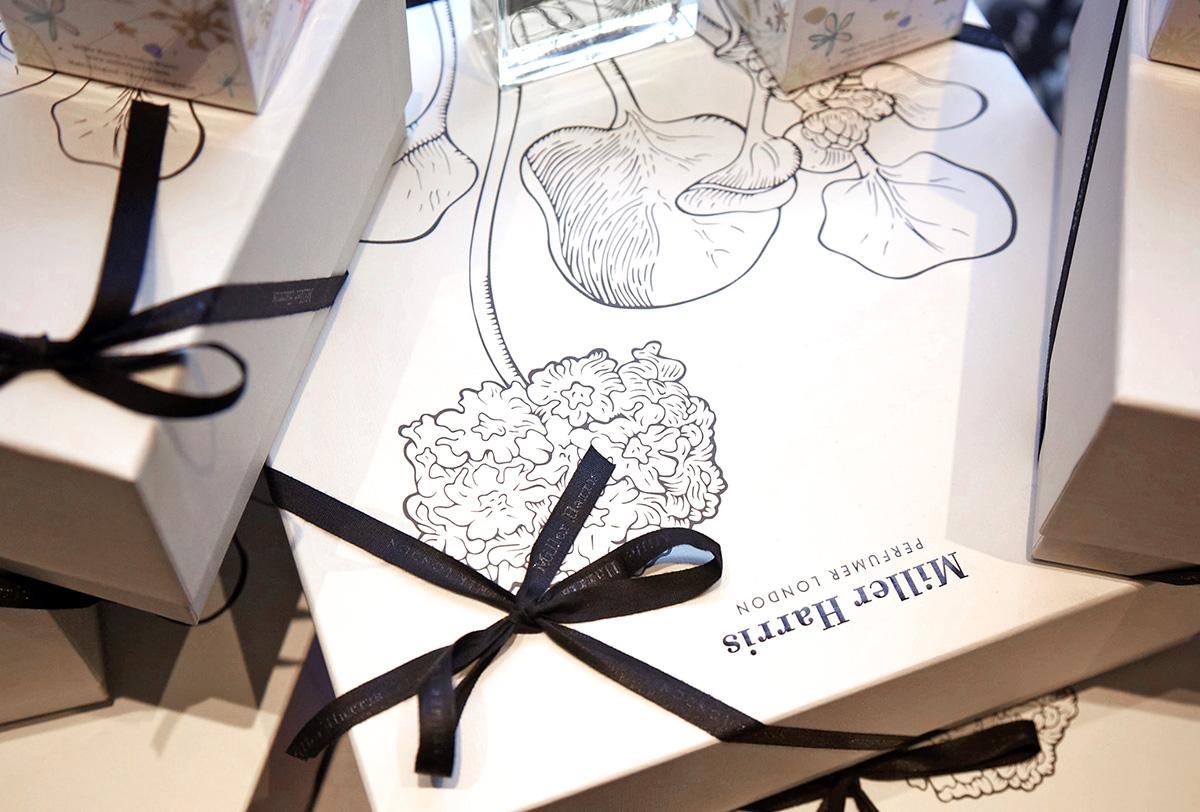 Progress Packaging Miller Harris Perfume