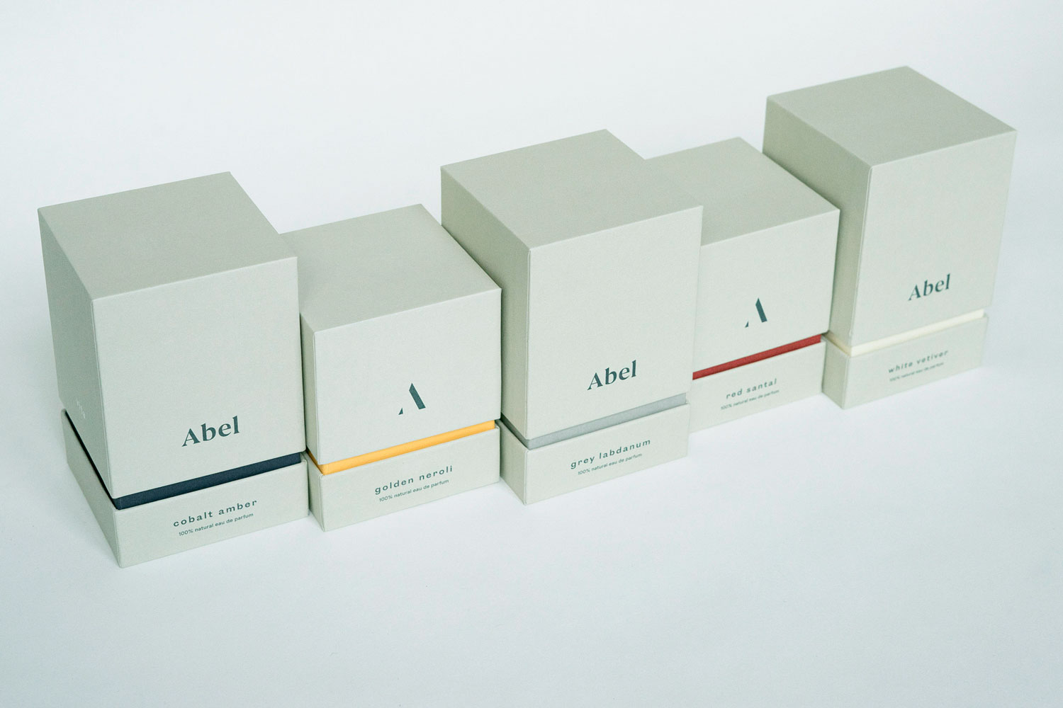 Progress Packaging Abel Perfume Beauty Box Range
