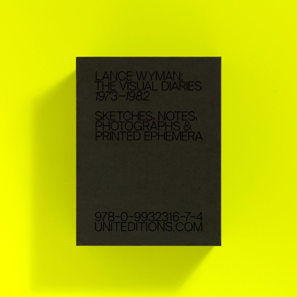 Progress Packaging Lance Wyman Unit Editions Limited Edition Book Clamshell Box