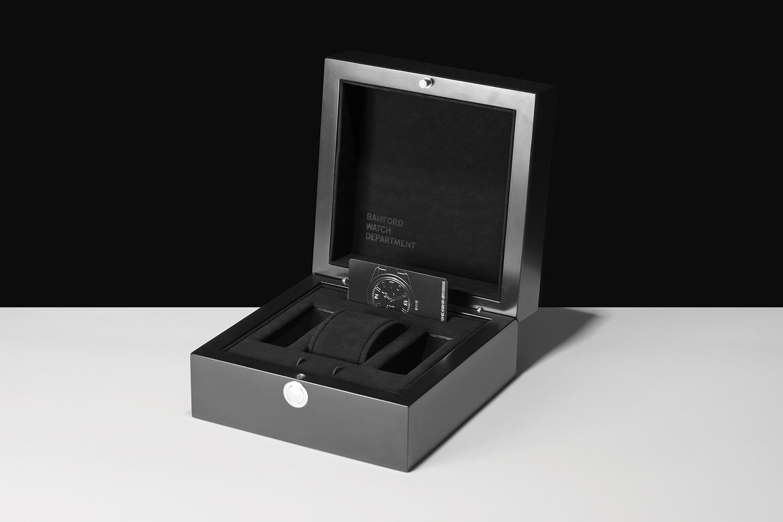 Progress Packaging Bamford Watch Department Creative Hinged Wooden Box Luxury